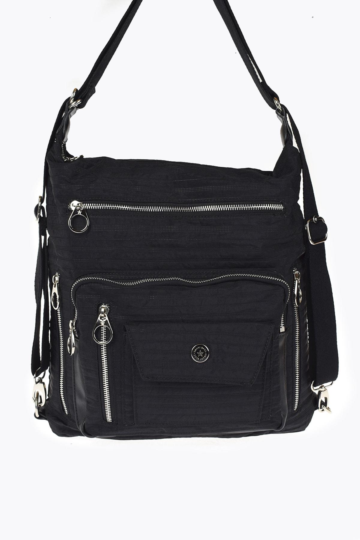 SMART BAGS Siyah Kadın Bel Çantası 0Smgw2020034 1