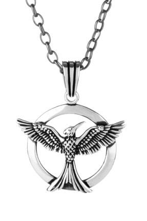 Anı Yüzük Erkek 925 Ayar Gümüş Anka Kuşu Kolye
