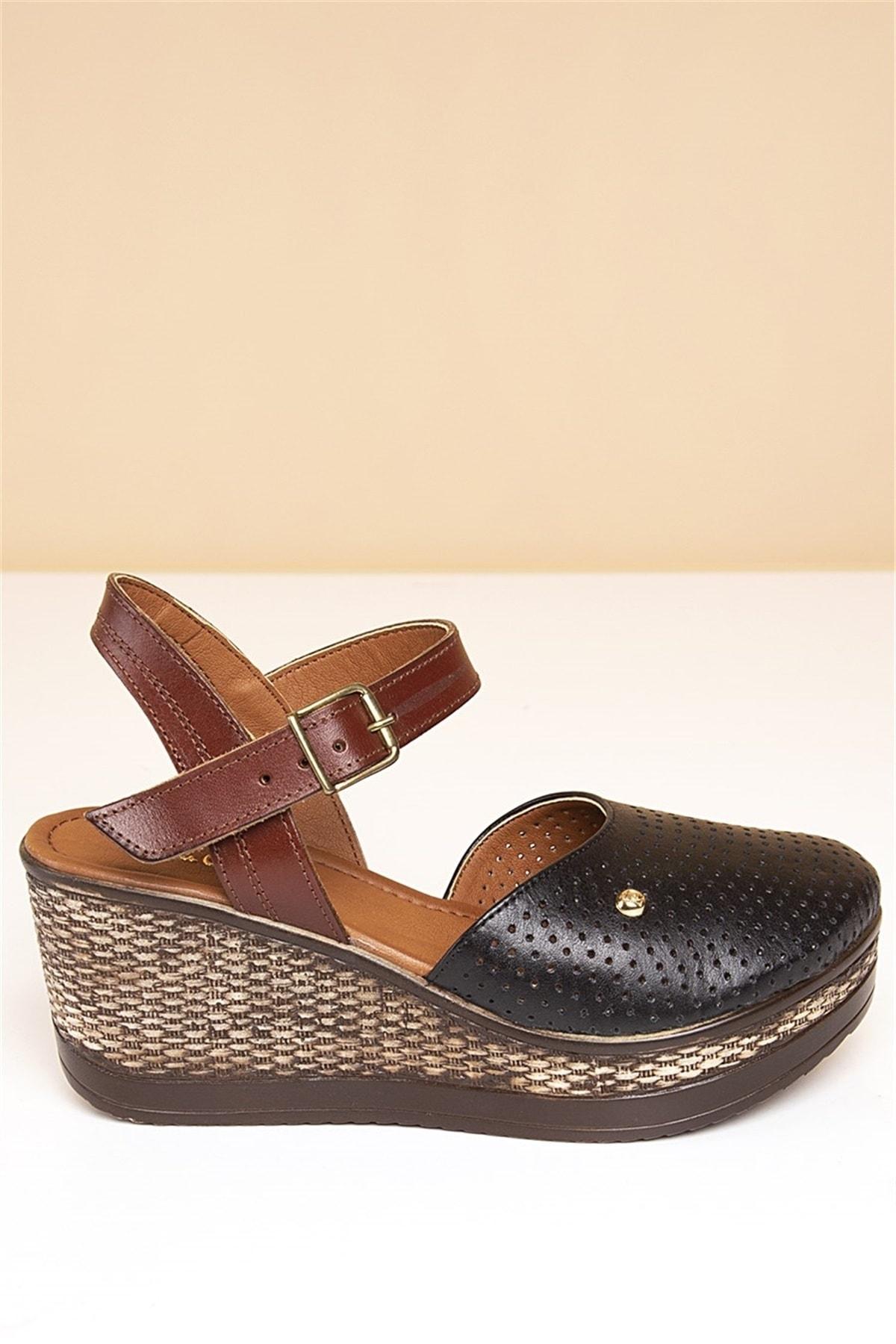 Pierre Cardin PC-2392 Siyah Kadın Sandalet 2