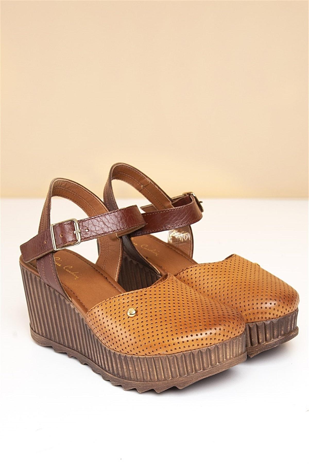 Pierre Cardin PC-2123 Taba Kadın Sandalet 2