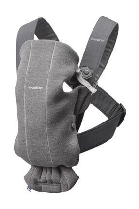 BabyBjörn Kanguru Mini 3D Cotton Dark Grey /