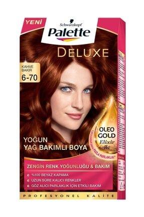 Palette Deluxe Kit Kahve Bakır (6-70) Saç Boyası