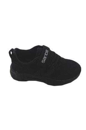 Sanbe Çocuk Cırtlı Spor Ayakkabı Siyah