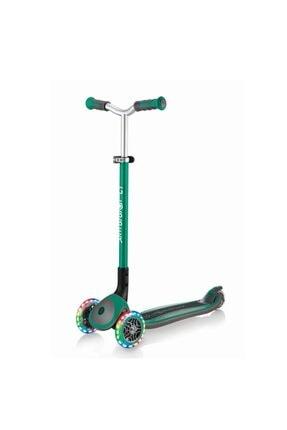 Globber Scooter/master Işıklı Katlanan/yeşil