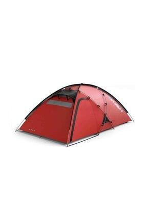 HUSKY Felen Kırmızı 2+1 Kişilik Kırmızı Çadır Cam1h0-4873.000