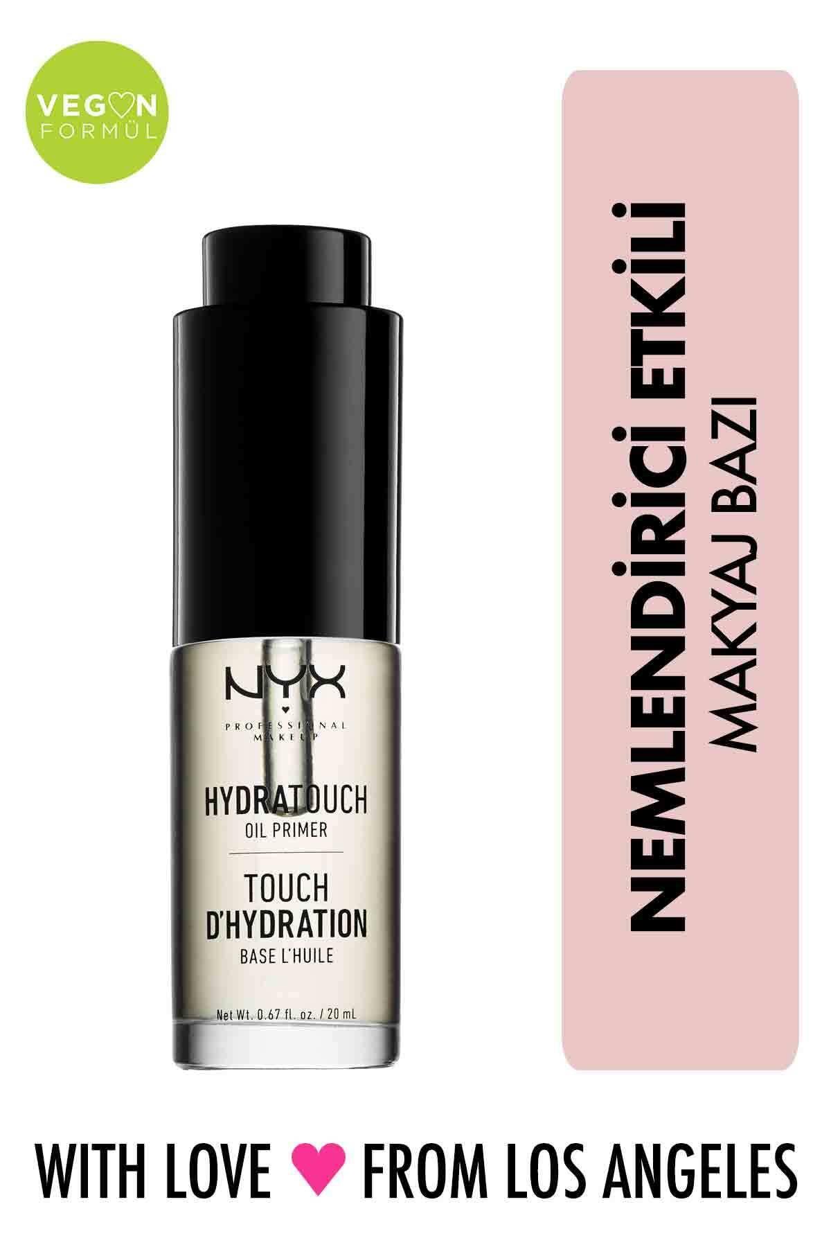 NYX Professional Makeup Besleyici Makyaj Bazı - Hydra Touch Oil Primer 20 ml 800897090692 1