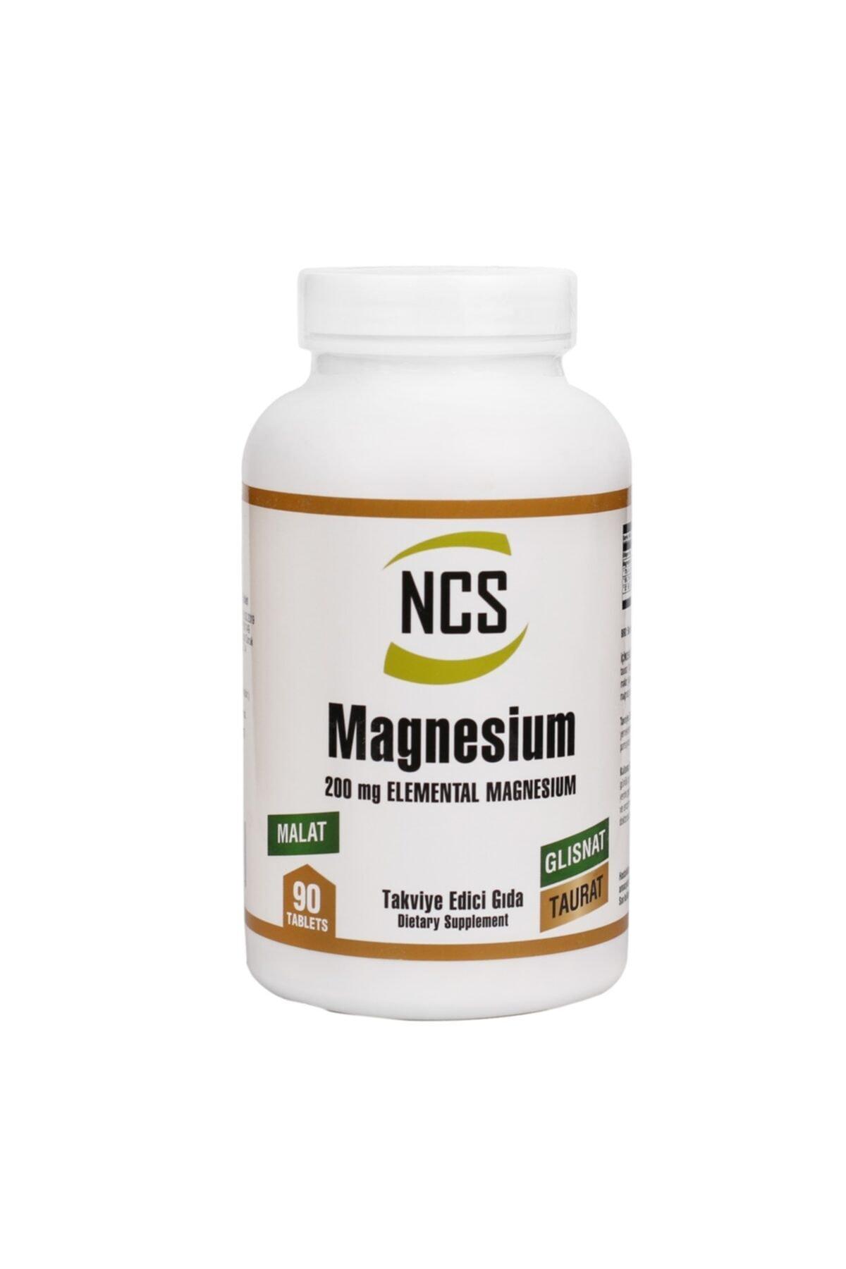 NCS Magnezyum Bisglinisat Taurat Malat 200 Mg 90 Tablet 1