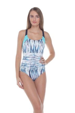 Sunset Kadın Turkuaz Gr113 Yüzücü Mayo