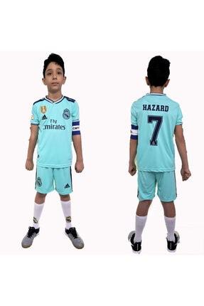 Forma Real Madrid Hazard Çocuk +şort Takım