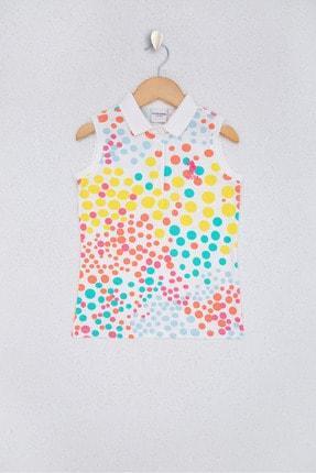 U.S. Polo Assn. Beyaz Kız Çocuk T-Shirt