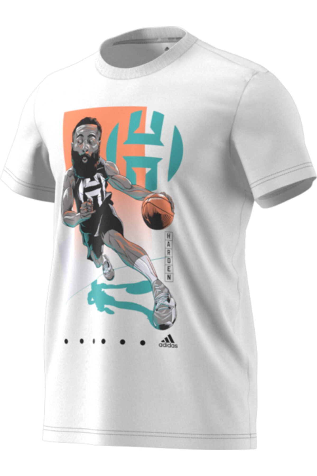 adidas Harden Drıve Gu Erkek  Spor T-Shirt 1