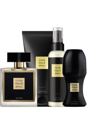 AVON Little Black Dress Kadın Parfüm Edp 50 ml Little Black Dress Vücut Spreyi 100 ml.5050000011013