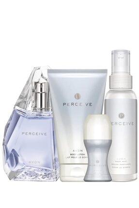 AVON Perceive Kadın Parfüm Edp 50 ml. Perceive Kadın Vücut Losyonu 150 ml 5050000011051