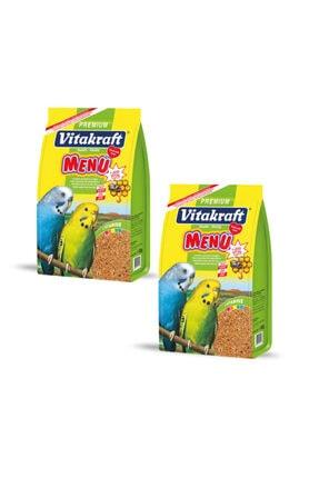 Vitakraft Menu Premium Ballı Muhabbet Kuşu Yemi 1000 Gr X 2 Adet