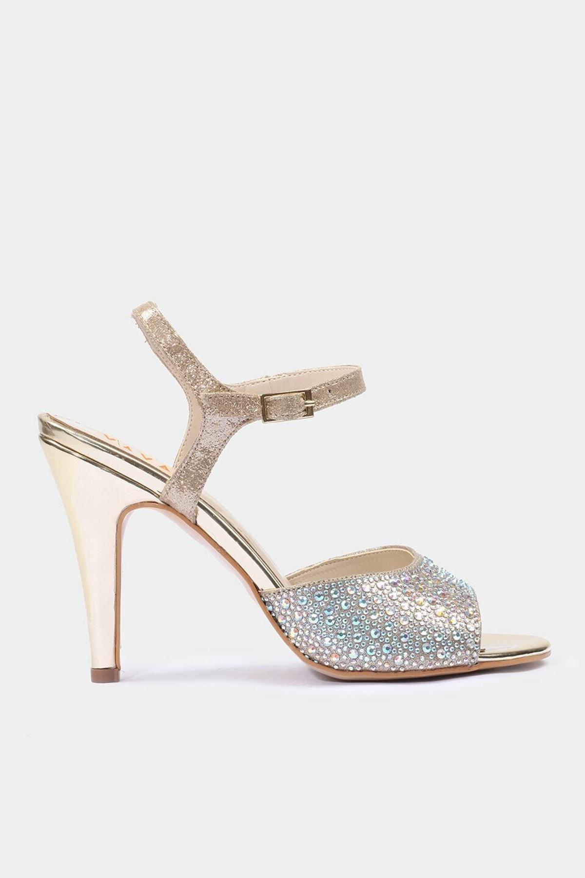 Hotiç Yaya Gold Kadın Sandalet