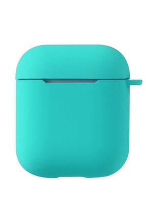 Sunix Airpods 2. Uyumlu Nesil Pastel Renkli Silikon Koruma Kopçalı Kılıf