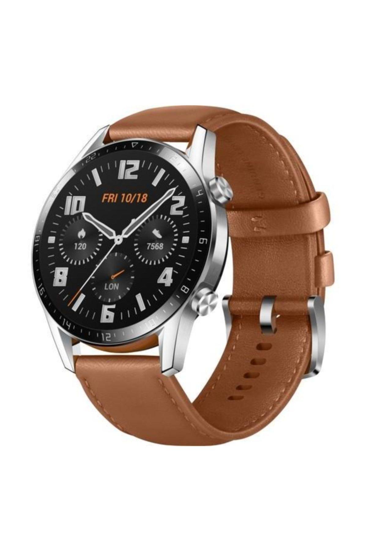 Huawei Watch GT2 46mm Classic Akıllı Saat - Kahverengi 2
