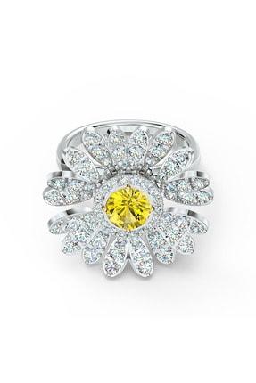 Swarovski Yüzük Eternal Flower-ring Movable Czoy-mix 52 5534936