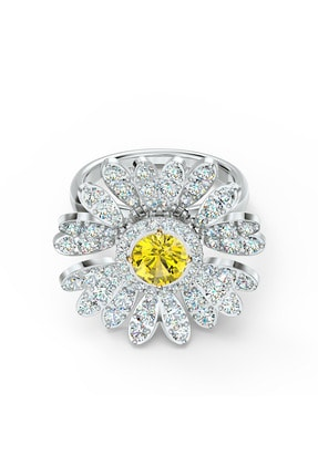 Swarovski Yüzük Eternal Flower-ring Movable Czoy-mix 58 5534945