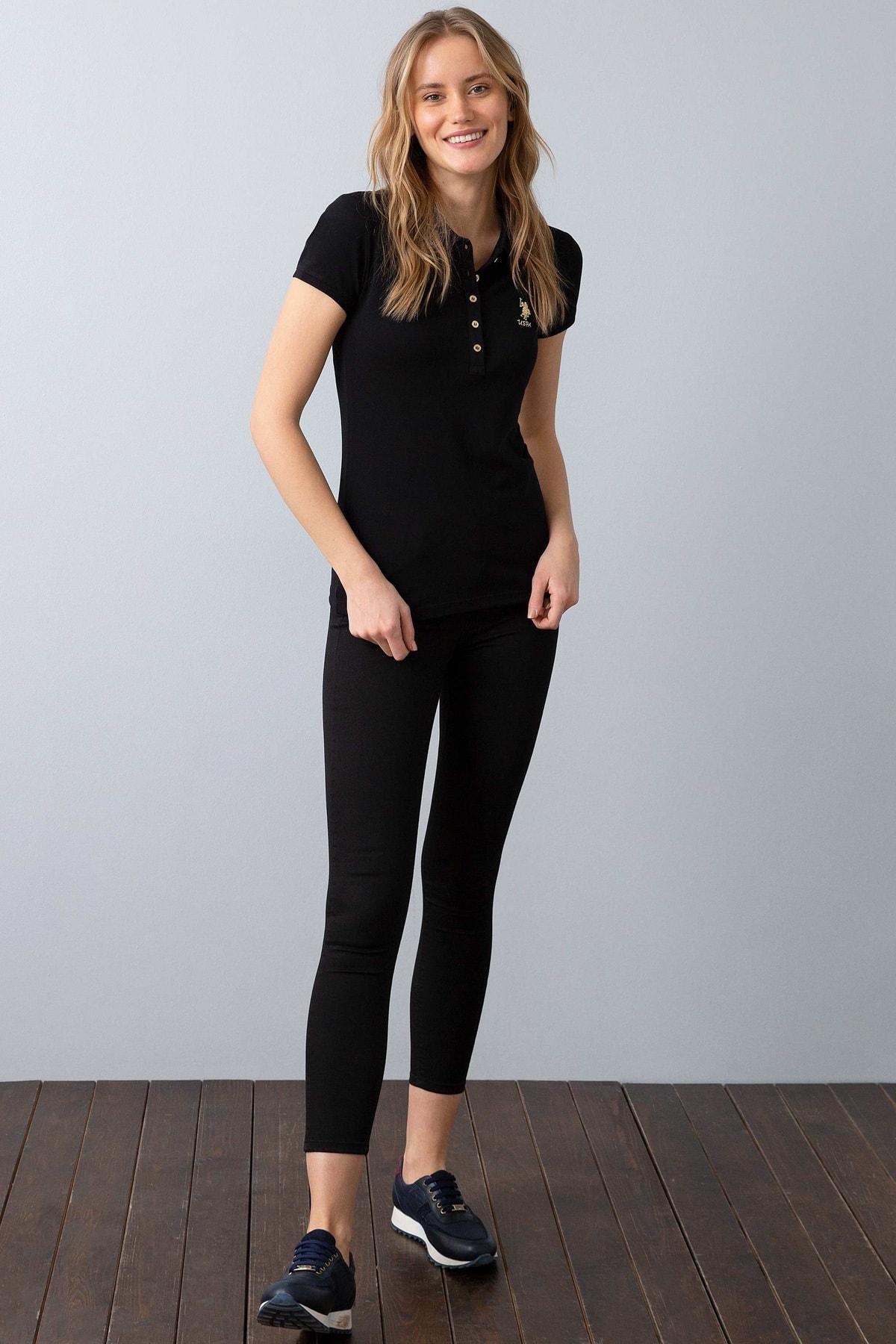 U.S. Polo Assn. Kadın Polo Yaka T-Shirt G082SZ011.000.734021 2