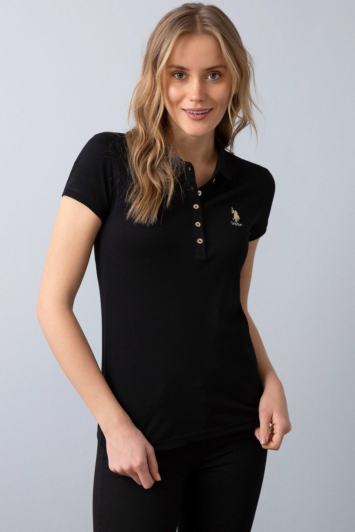 U.S. Polo Assn. Kadın Polo Yaka T-Shirt G082SZ011.000.734021 1