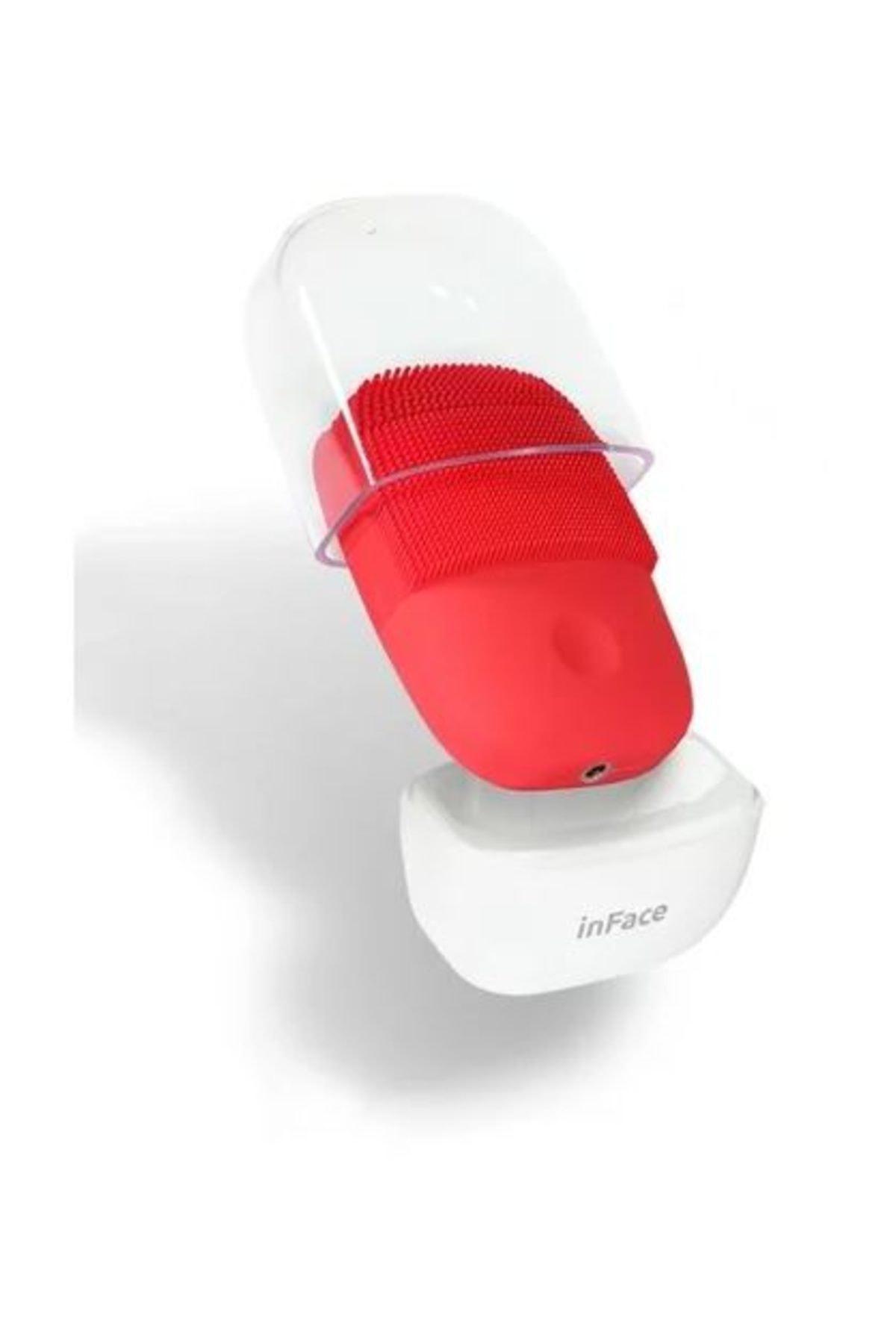 inFace İnFace Sonic Yüz Temizleme ve Masaj Cihazı Inface Kırmızı 1