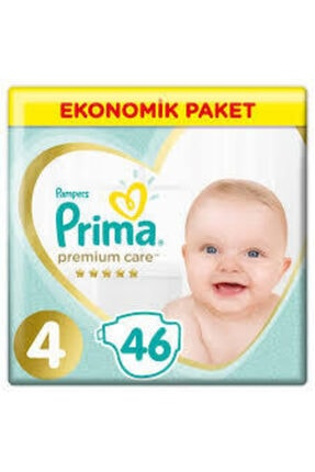 Prima Premium Care 4 Beden 46 Adet Ekonomik Paket