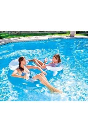 BESTWAY 43009 Çift Kişilik Duble Havuz & Deniz Yatağı Dev Boy 1.88 M X 1.17 M
