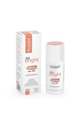 Dermoskin Be Bright Likit Fondöten Light Spf50 33 Ml