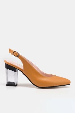Hotiç Hardal Kadın  Klasik Topuklu Ayakkabı 01AYH172990A350