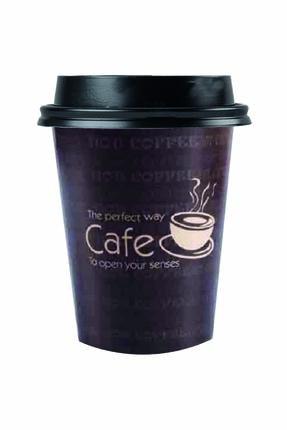 Kullan At Market Roll-up Kapaklı Karton Kahve-çay Bardağı 100lü