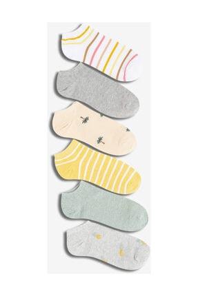GAP 6'lı Desenli Çorap