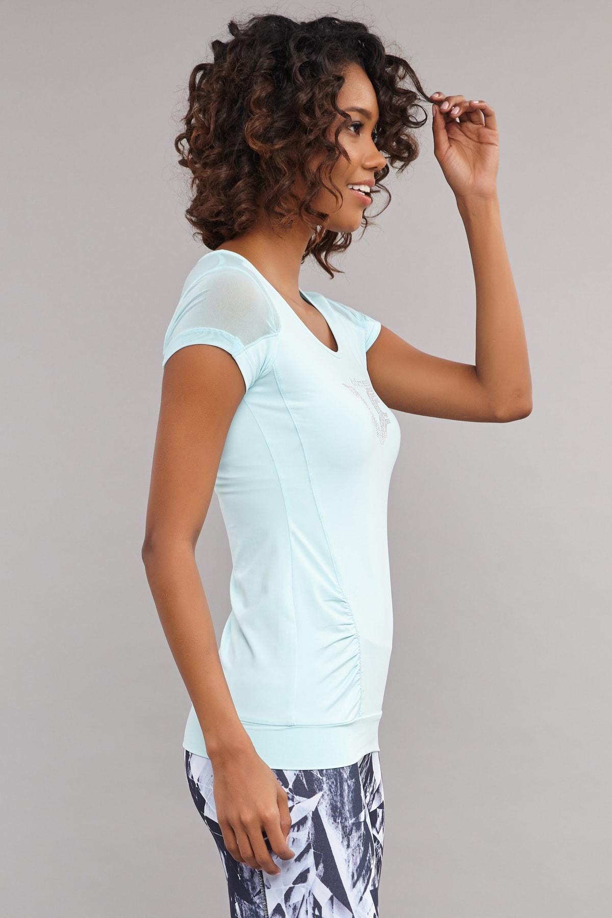bilcee Kadın T-Shirt AS-5071 2