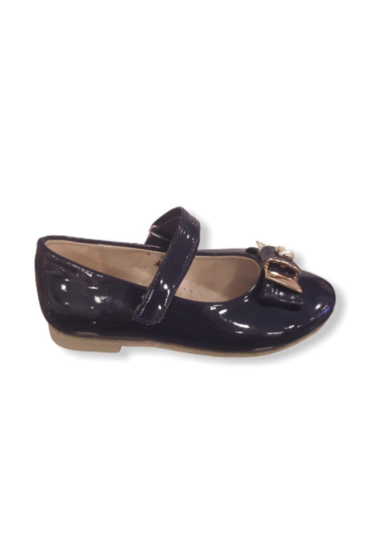 Vicco Kız Bebek Lacivert Babet Ayakkabı 1