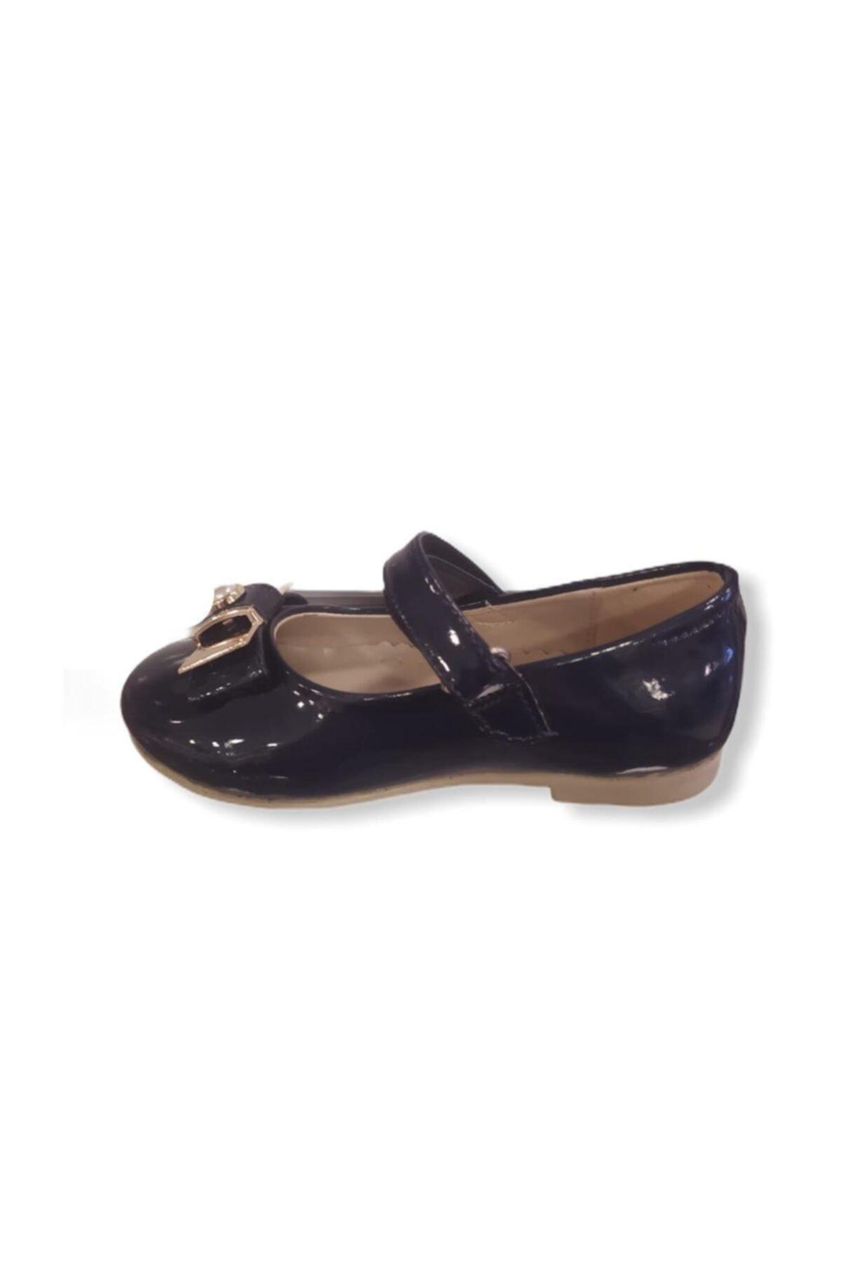 Vicco Kız Bebek Lacivert Babet Ayakkabı 2