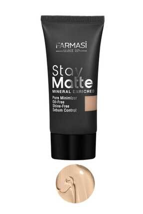 Farmasi Fondöten - Stay Matte Foundation Light Ivory 01 30 ml