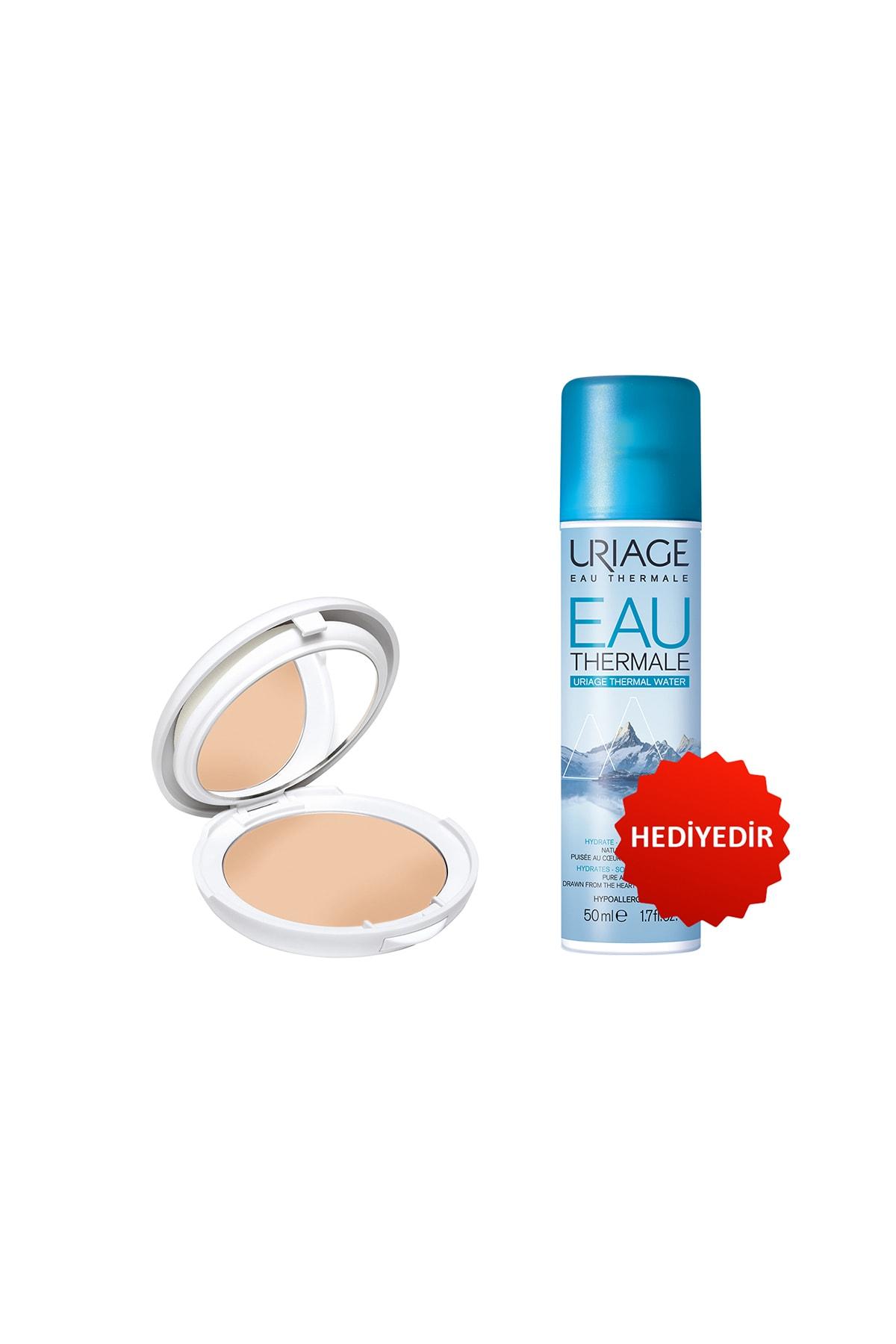 Uriage Bariésun Mineral Cream Fair Tinted Compact Spf50+(Güneş Koruyucu) + Eau Thermale D Uriage Sp 50 ml