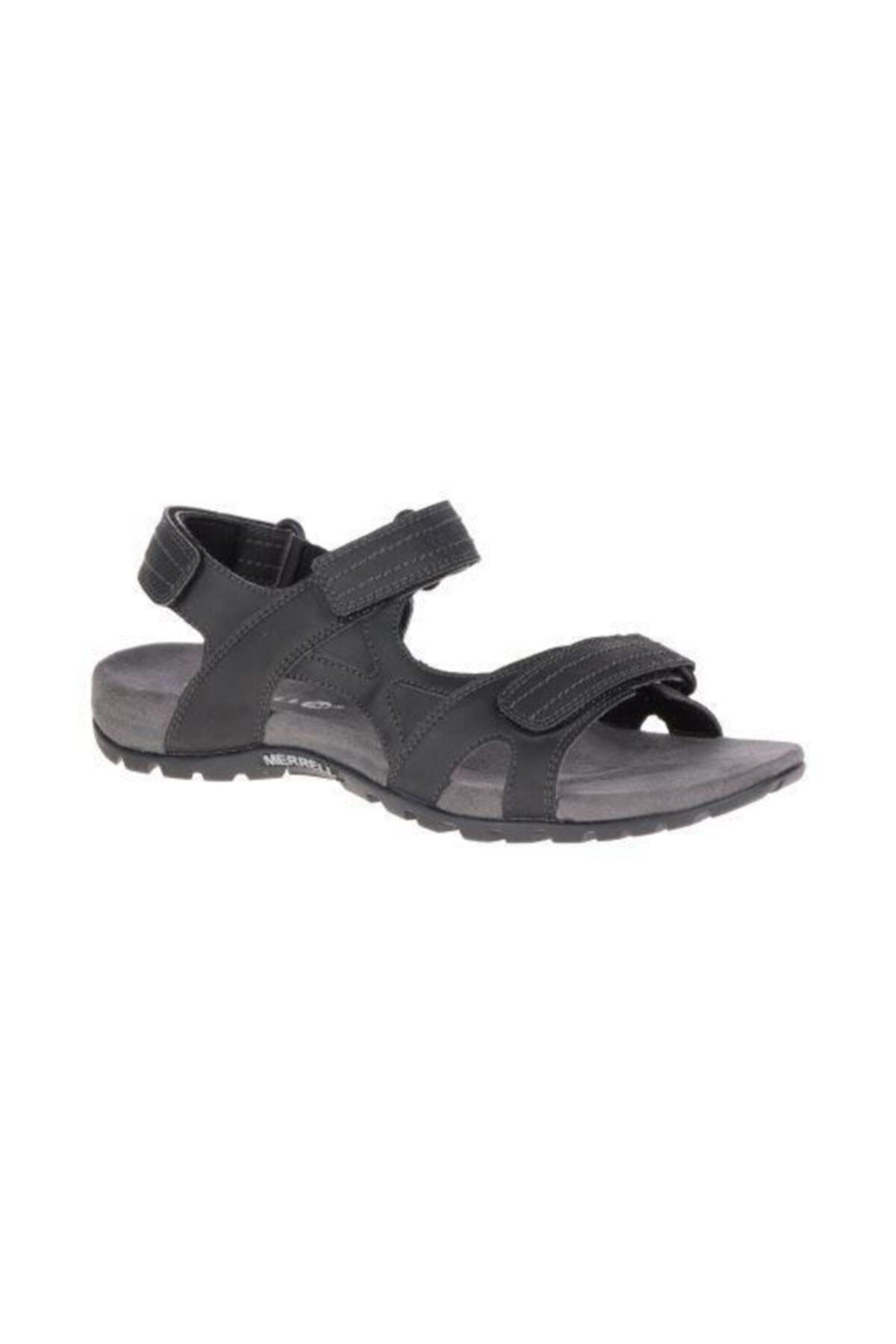 Merrell Erkek Sandalet Sandspur Rift Strap Black J342315c 1