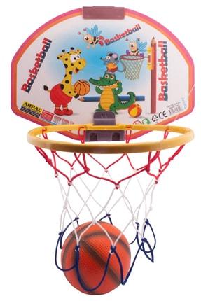 ERBAY Asılabilir Basket Potası Orta Boy Basketbol Seti