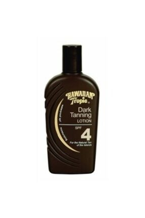 Hawaiian Tropic Dark Tanning Lotion Spf 4 237 Ml