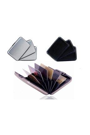 HAYATINIZI KOLAYLAŞTIRIN 7 Bölmeli Metal Kredi Kartlık