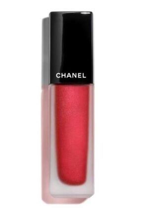 Chanel Rouge Allure Ink Likit Ruj - 208 Metallic Red