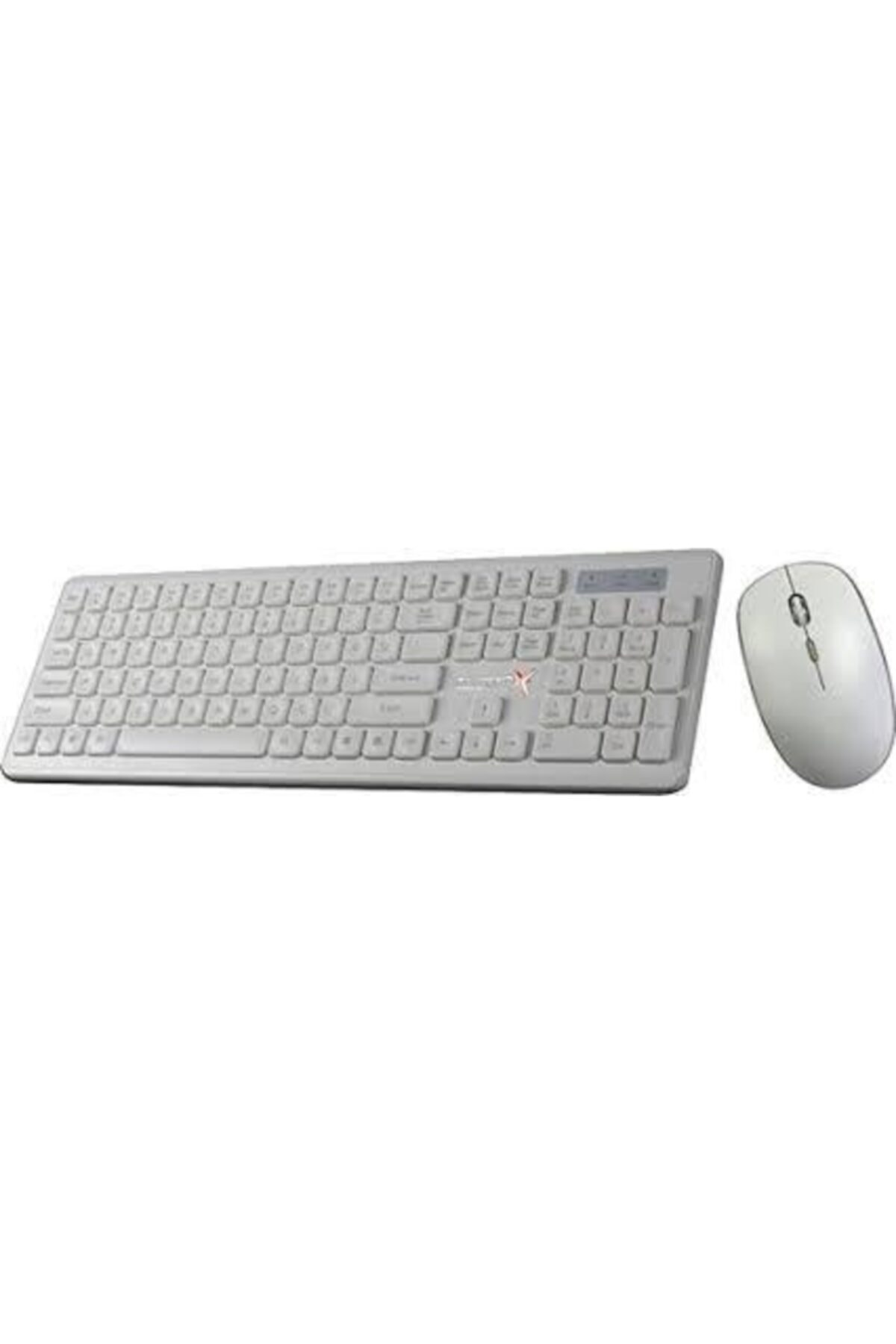 TURBOX Km-20 Wireless Multimedya Tr Q Klavye Mouse Set Beyaz 1