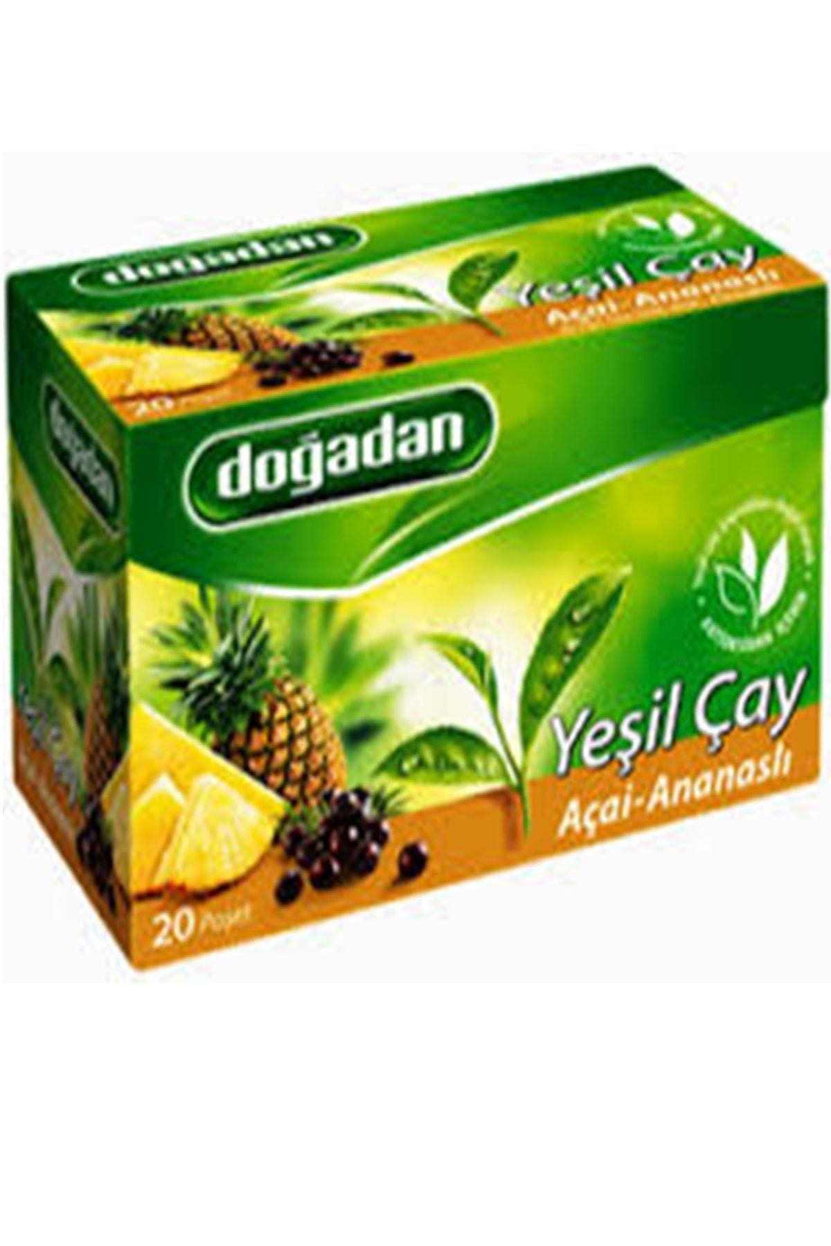 Doğadan Açai Ananas Yeşil Çay 20'li 34 gr