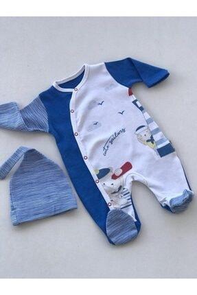 Bebitof Baby Baby Boss Denizci Mavi Tulum
