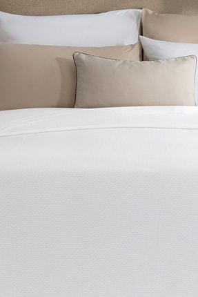 Madame Coco Mardi Çift Kişilik Yatak Örtüsü - Beyaz