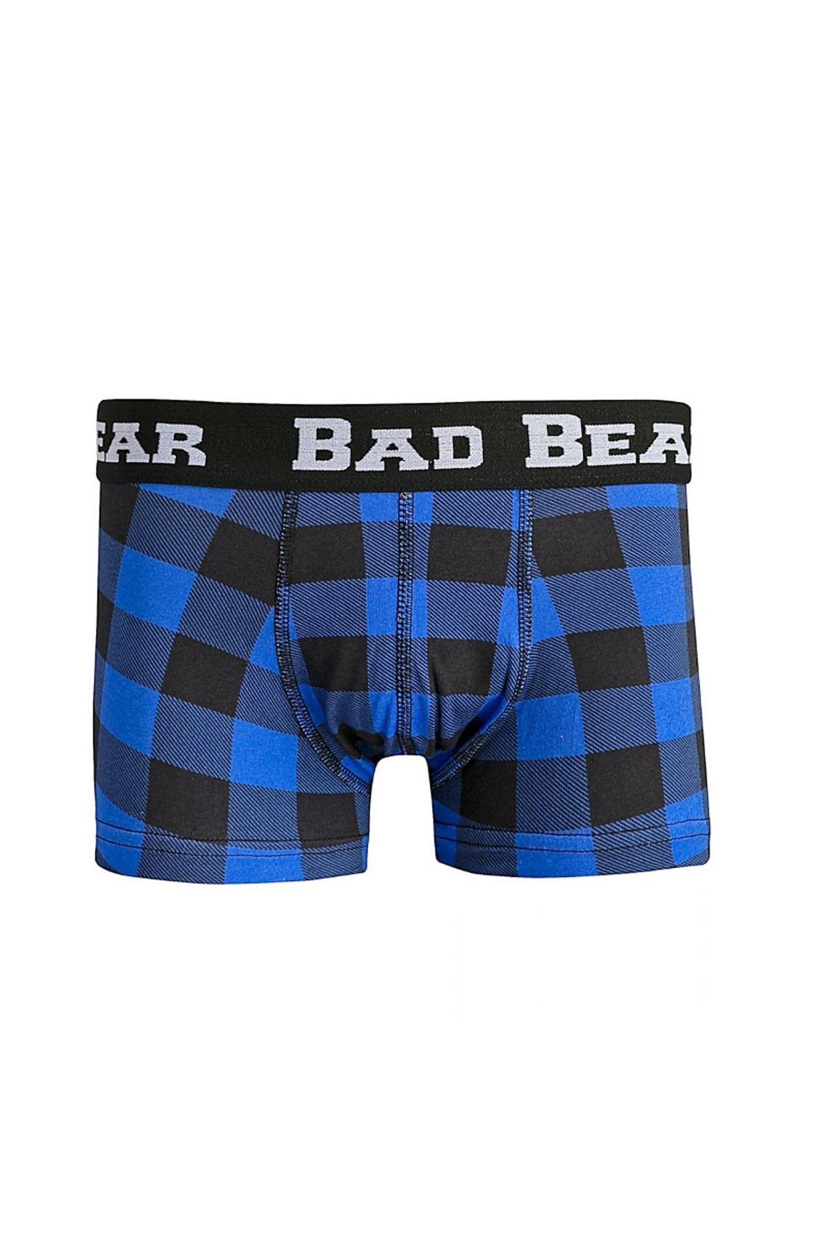 Bad Bear CHECKED NAVY 1