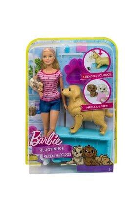Barbie Mattel 'nin Hayvanları Ve Doğuran Köpeği Fdd43 Fbn17