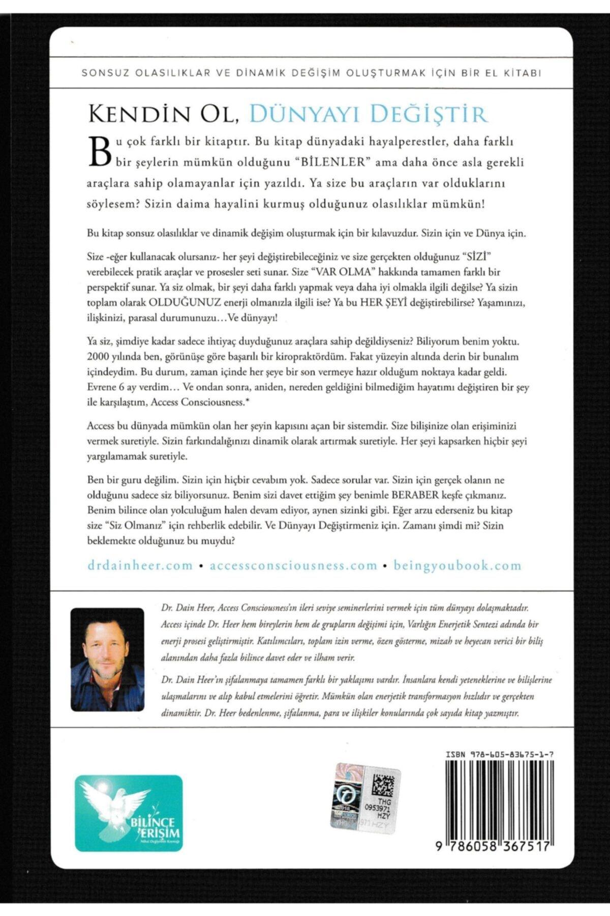 Bilince Erişim Kişisel Gelişim Danışmanlığı Kendin Ol Dünyayı Değiştir - Dr.daın Heer 2