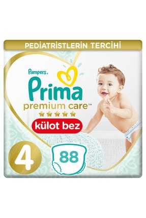 Prima Külot Bez Premium Care 4 Beden Maxi İkiz Paket88 Adet